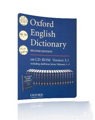 Oxford English Dictionary v3.1 (second edition) Portable