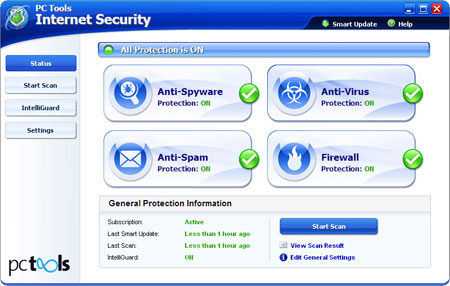 PC Tools Internet Security 2011 8.0.0.608 (RUS)