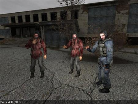 S.T.A.L.K.E.R-Shadow of Chernobyl Lost Zone Armageddon (2010/PC/RUS)