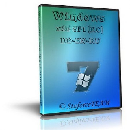 Windows 7 Build 7601 SP1 StaforceTEAM (2010/x86/DE-EN-RU)