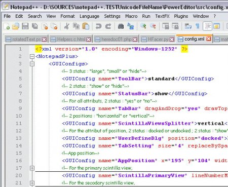 Notepad++ 5.8.5 Final RU