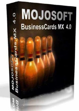 Mojosoft BusinessCards MX 4.01 RePack by wadimus (ENG/RUS/2010)