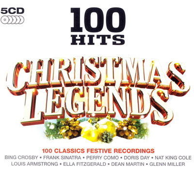 100 Hits Christmas Legends (5CD) 2010