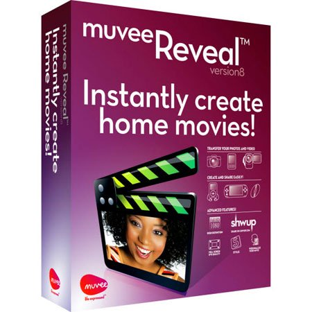 muvee Reveal ver.8.0.1.17380 build 2406 (RUS/2010)