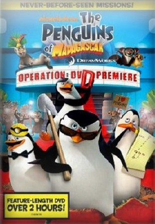 Пингвины Мадагаскара: Операция ДВД / The Penguins Of Madagascar: Operation DVD (2010/DVDRip)