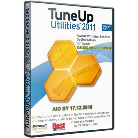 TuneUp Utilities 2011 AIO Pack 17.12.2010 (ENG/GER/RUS)
