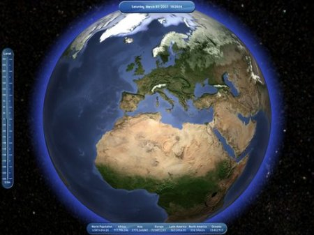 Living Globe 3D Screensaver 1.0