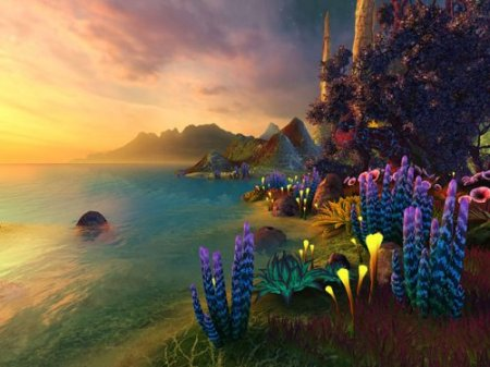 Faraway Planet 3D Screensaver 1.0.0.1