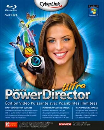 CyberLink PowerDirector ver. 9.0.0.2330 RePack by MKN (2010)