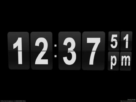 Flip Clock 3D Screensaver 1.01