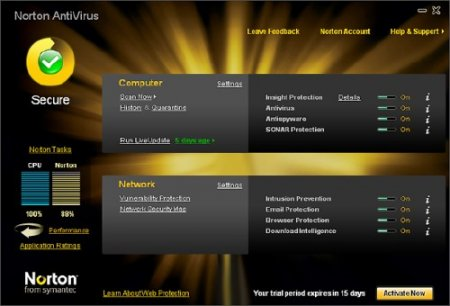 Norton AntiVirus 2011 18.5.0.127