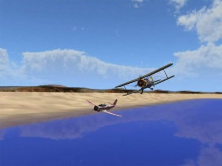 Sport Airplanes 3D Screensaver 1.1