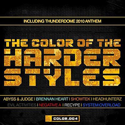 The Color Of The Harder Styles Vol.4 (2011)