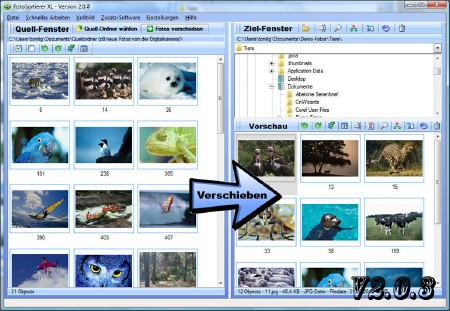 SortPix Fotosortierer 2.0.3 Bilanguage