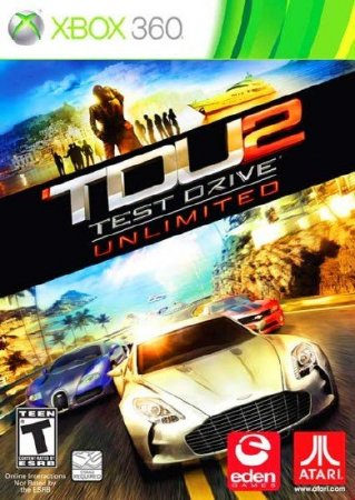 Test Drive Unlimited 2 (2010/ENG/RF) XBOX360