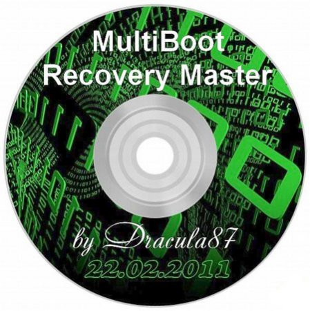 Dracula87 MultiBoot Recovery Master DVD 2.0 Date 220211