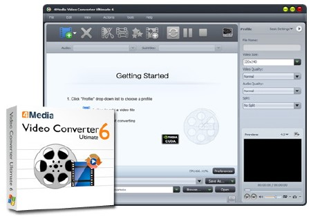 4Media Video Converter Ultimate v6.5.2 Build 0225