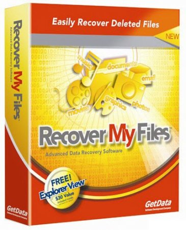 GetData Recover My Files Professional 4.6.8.1012
