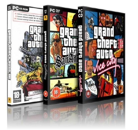 Grand Theft Auto Трилогия (2002-2010/RUS/Lossless Repack by tukash)
