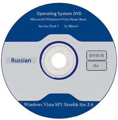Windows Vista SP1 Stealth lite 3.0 (2011/RUS)