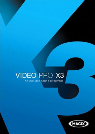 MAGIX Video Pro X3 Rus-Eng 10.0.10.2 + DVD Menu Templates