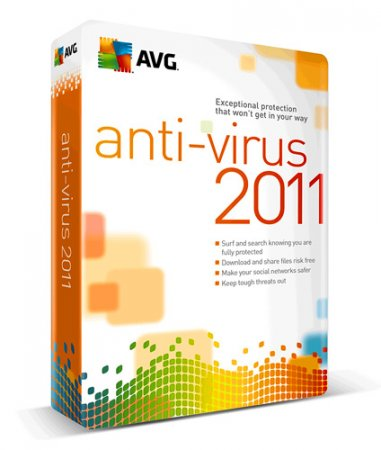AVG Anti-Virus Free 2011 Rus 10.0.1325 build 3589