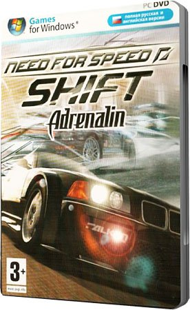 Need for Speed: Shift. Adrenalin (RePack/Multi5+)