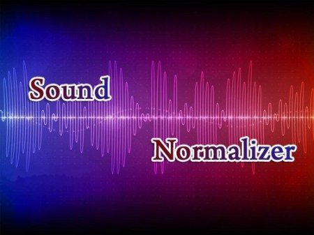 Sound Normalizer 3.3 Final
