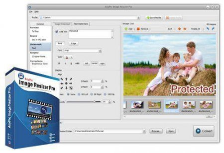 AnyPic Image Resizer Pro 1.2.0 Build 3161 + Rus