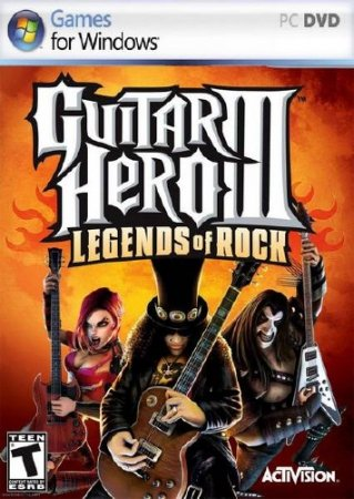 PC игра - Gutar Hero 3: Legends Of Rock ENG/2009