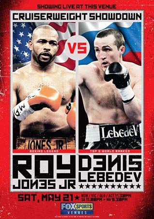 Денис Лебедев vs Рой Джонс Мл / Denis Lebedev vs Roy Jones Jr (2011/HDTVRip)