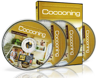 Compact Disc Club - Cocooning 4CD Box Set (2011)