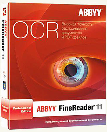 ABBYY FineReader Professional Edition 11.0.102.481