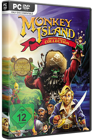 The Monkey Island Special Edition Collection (PC/2011/EN)