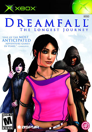 Dreamfall: The Longest Journey (PAL/RUSSOUND/DVD9/iXtreme)
