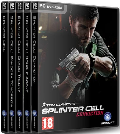 Антология Tom Clancy's Splinter Cell (RePack Catalyst)
