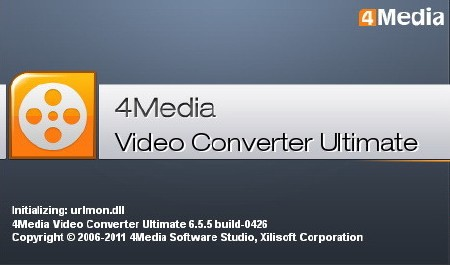 Portable 4Media Video Converter Ultimate 6.5.5 0426 (2011/ENG)