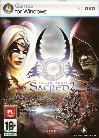 Sacred 2. GOLD Падший Ангел + Лед и Кровь + Elite Textures (RePack Packers)