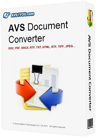 AVS Document Converter 2.1.2.182 (Eng/Rus)