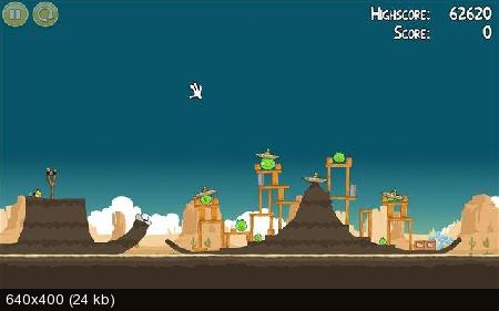 Коллекция игр Angry Birds для PC, Mac, iPad, Android, Simbian, Maemo