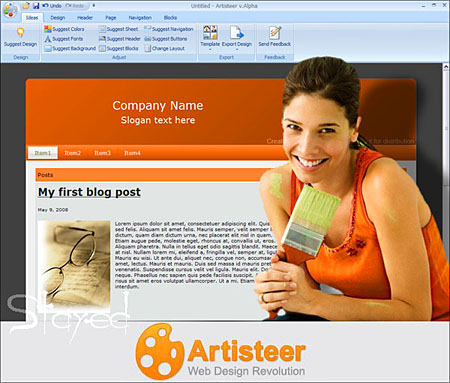 Extensoft Artisteer v 3.0.0.45570 (2011)
