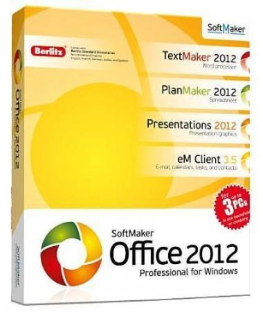 SoftMaker Office Professional 2012.650 Portable by Baltagy (2011/Rus)
