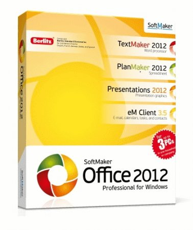 SoftMaker Office Professional 2012 rev 654 Repack by KpoJIuK_Labs