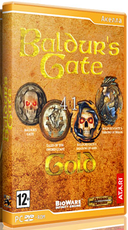 Baldur's Gate: Gold (PC/RUS)