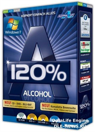 Alcohol 120% 2.0.1 Build 2033 Final + SPTD 1.80 (2012/MULTI/RUS)