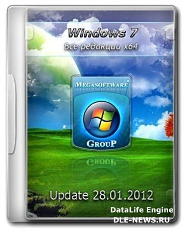 Windows 7 AIO x64 SP1 Update 28.01.2012 by MSware (2012/RUS)