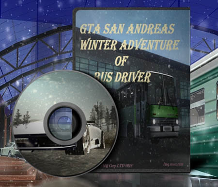 GTA: San Andreas Winter Adventure Of Bus Driver (PC/2012)