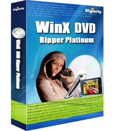 WinX DVD Ripper Platinum v6.8.1 Build 20111214