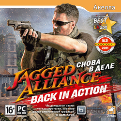 Jagged Alliance: Back In Action Снова в Деле / Jagged Alliance: Back In Action + 1 DLC (2012/Акелла/RUS)
