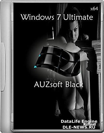 Windows 7х64 Ultimate AUZsoft Black v.5.12 (RUS/2012)